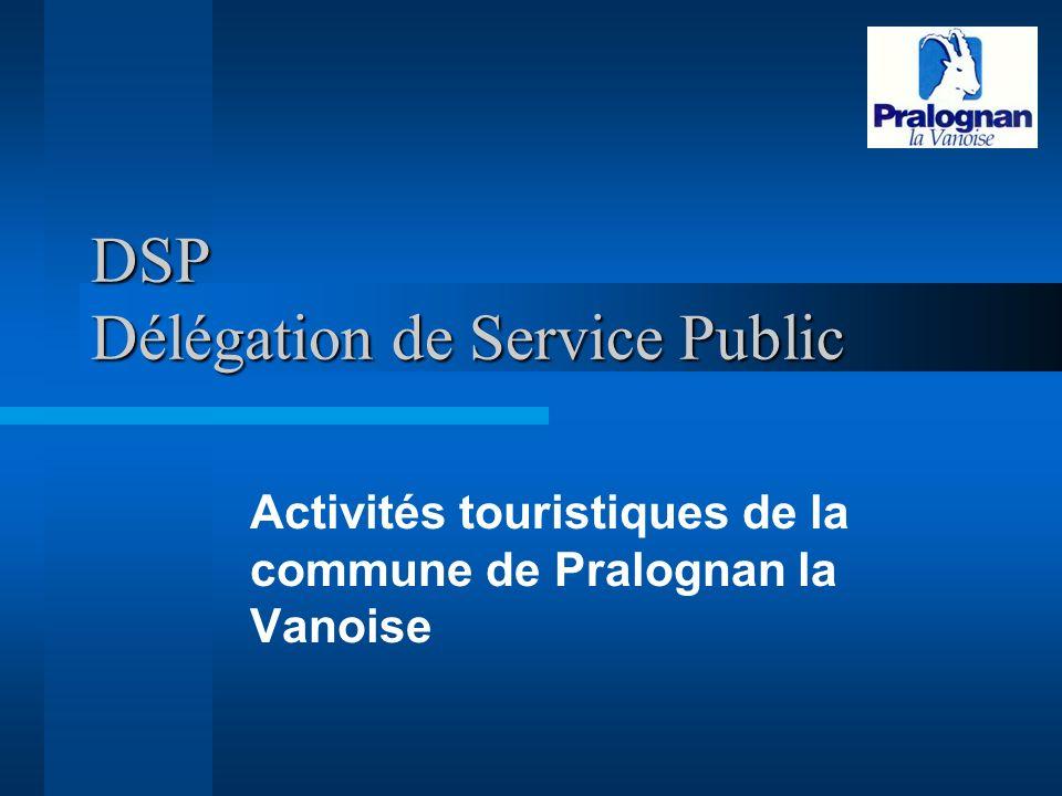 DSP Délégation de Service Public