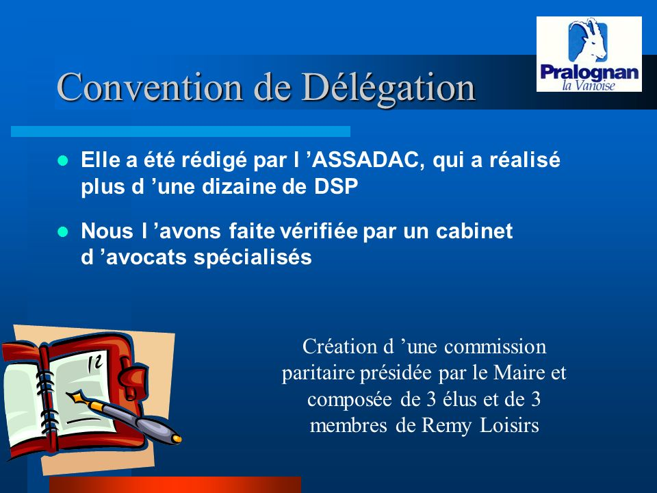 Convention de Délégation