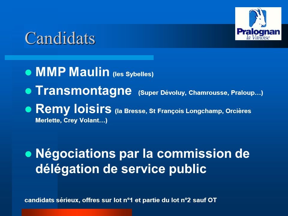 Candidats MMP Maulin (les Sybelles)