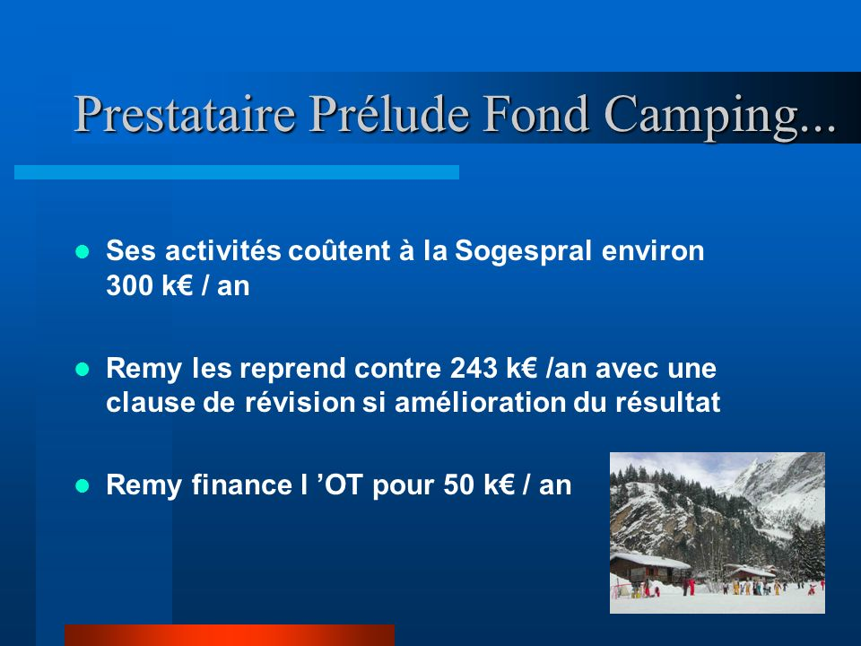 Prestataire Prélude Fond Camping...