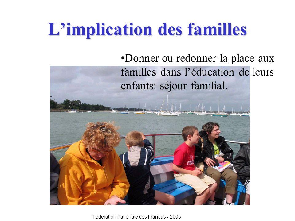 L'implication des familles