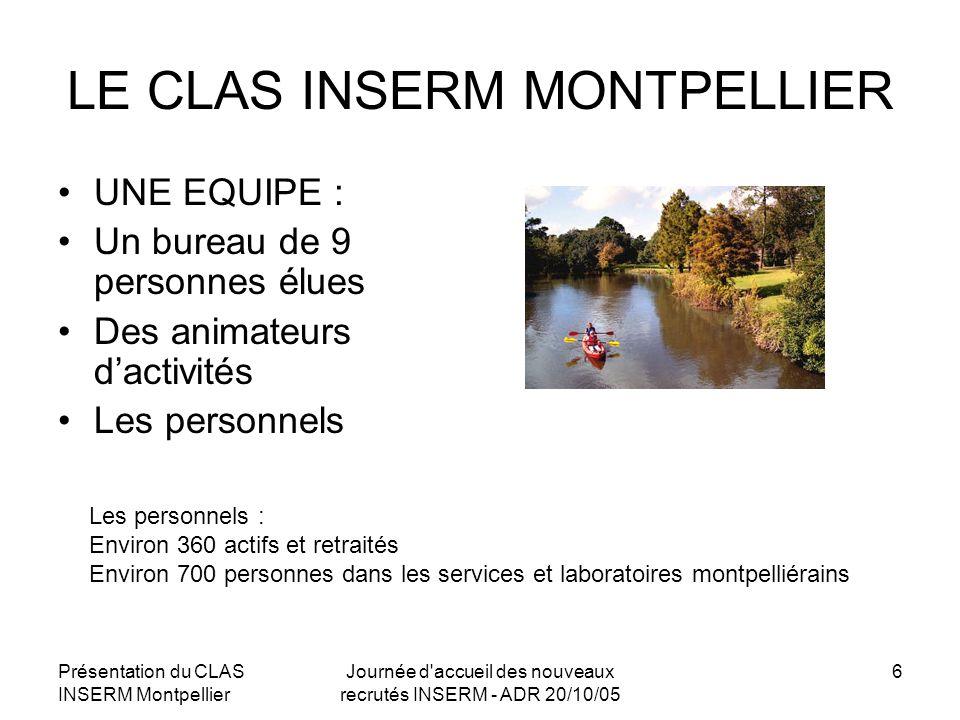 LE CLAS INSERM MONTPELLIER