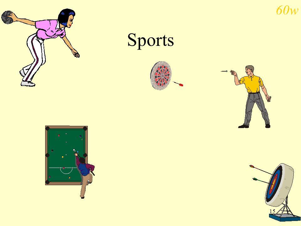 60w Sports
