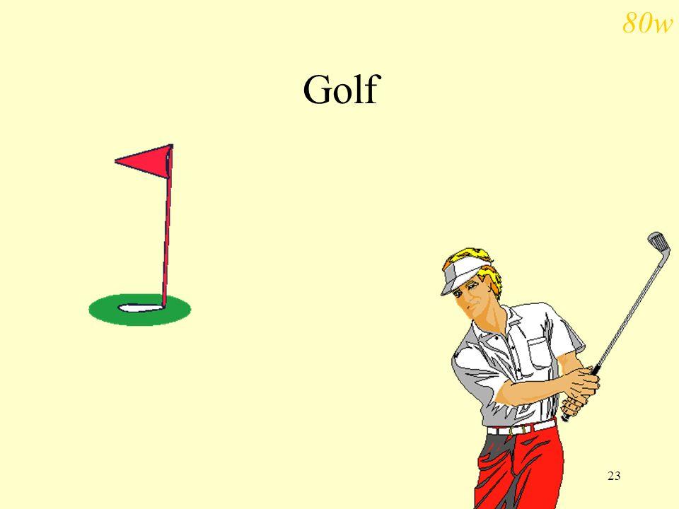 80w Golf