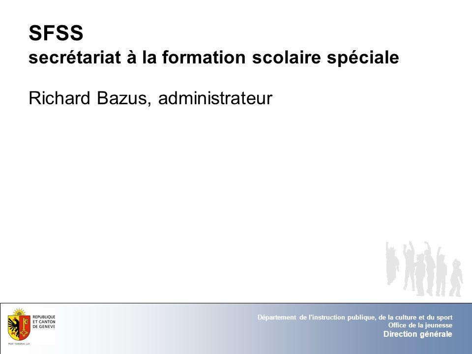 SFSS secrétariat à la formation scolaire spéciale