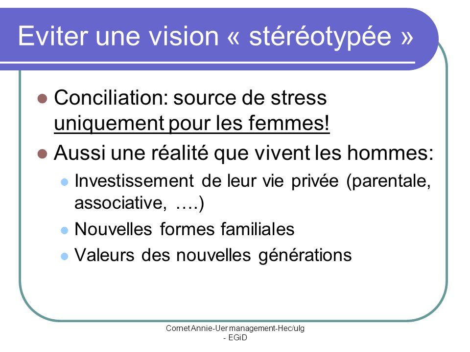 Eviter une vision « stéréotypée »