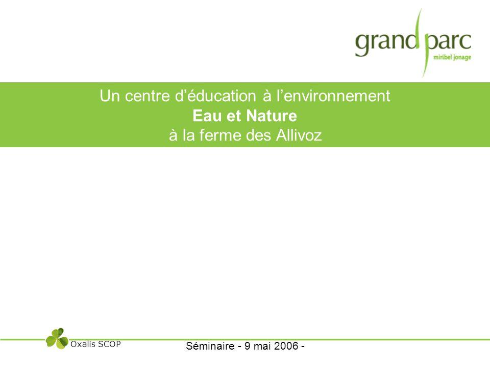 Un centre d'éducation à l'environnement Eau et Nature