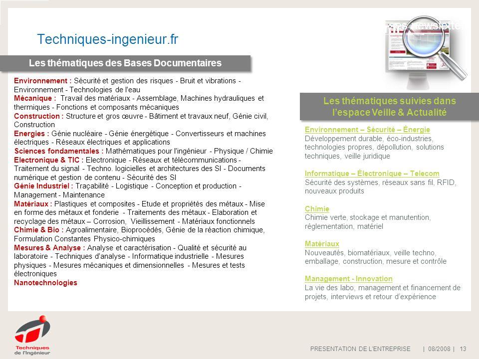 Techniques-ingenieur.fr Offre publicitaire www.techniques-ingenieur.fr