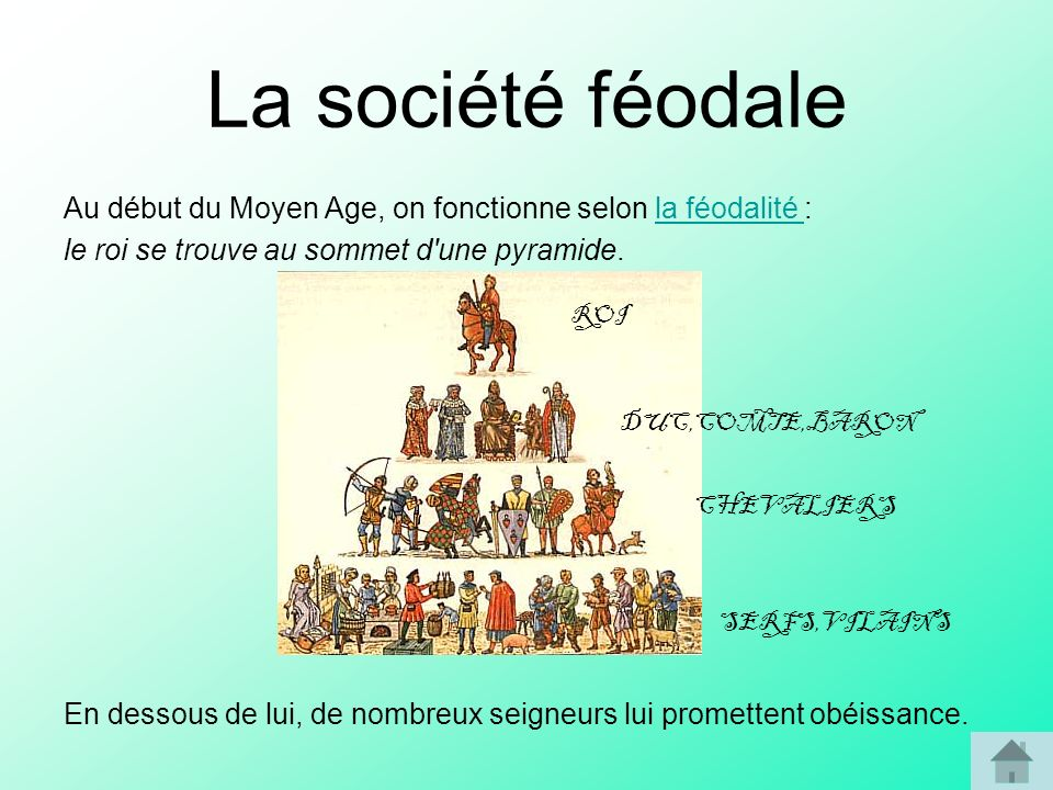la société médivale du XIe au XIIIe siècle 2nde Histoire