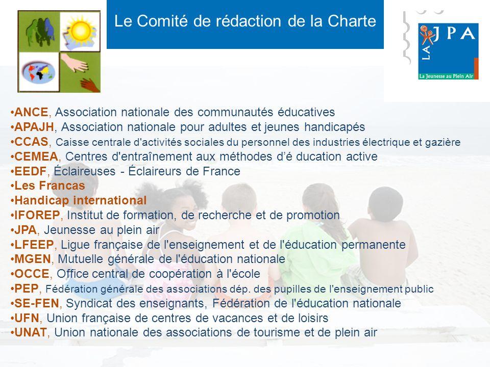 Le Comité de rédaction de la Charte