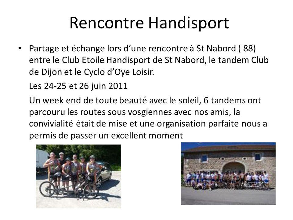 Rencontre Handisport