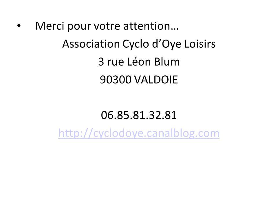 Association Cyclo d'Oye Loisirs