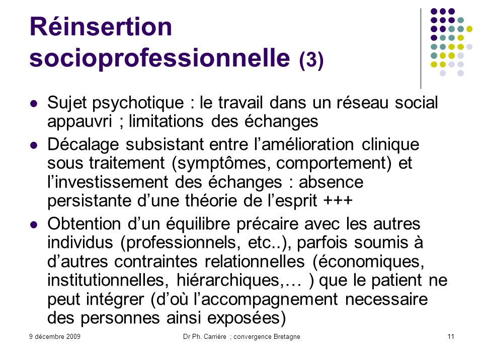 Réinsertion socioprofessionnelle (3)