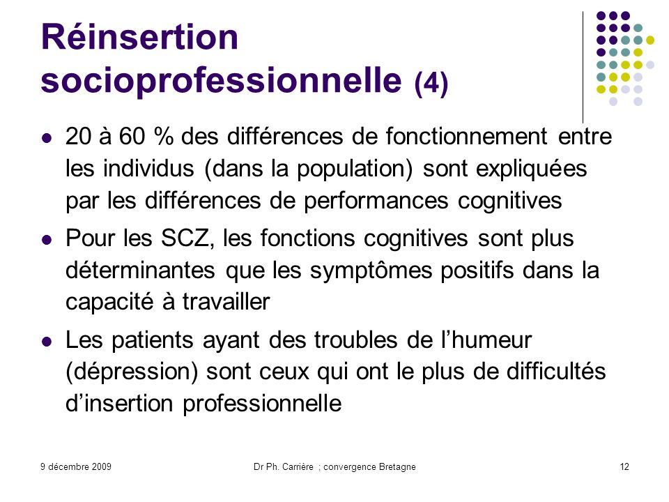 Réinsertion socioprofessionnelle (4)