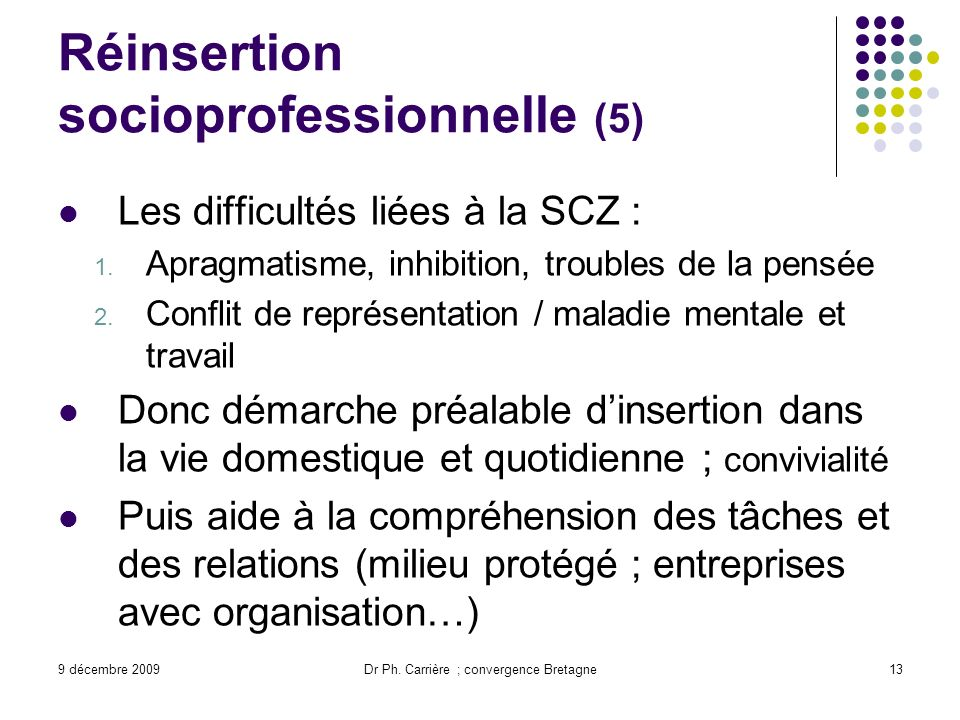 Réinsertion socioprofessionnelle (5)