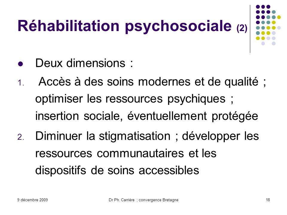 Réhabilitation psychosociale (2)