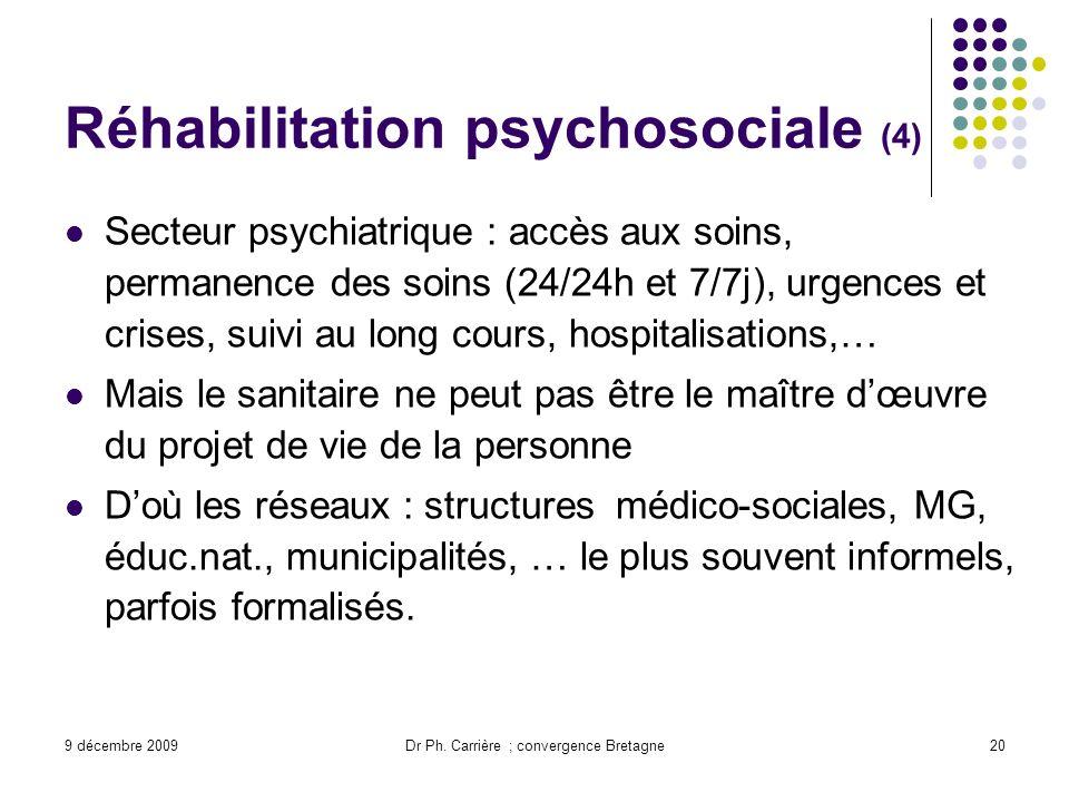 Réhabilitation psychosociale (4)