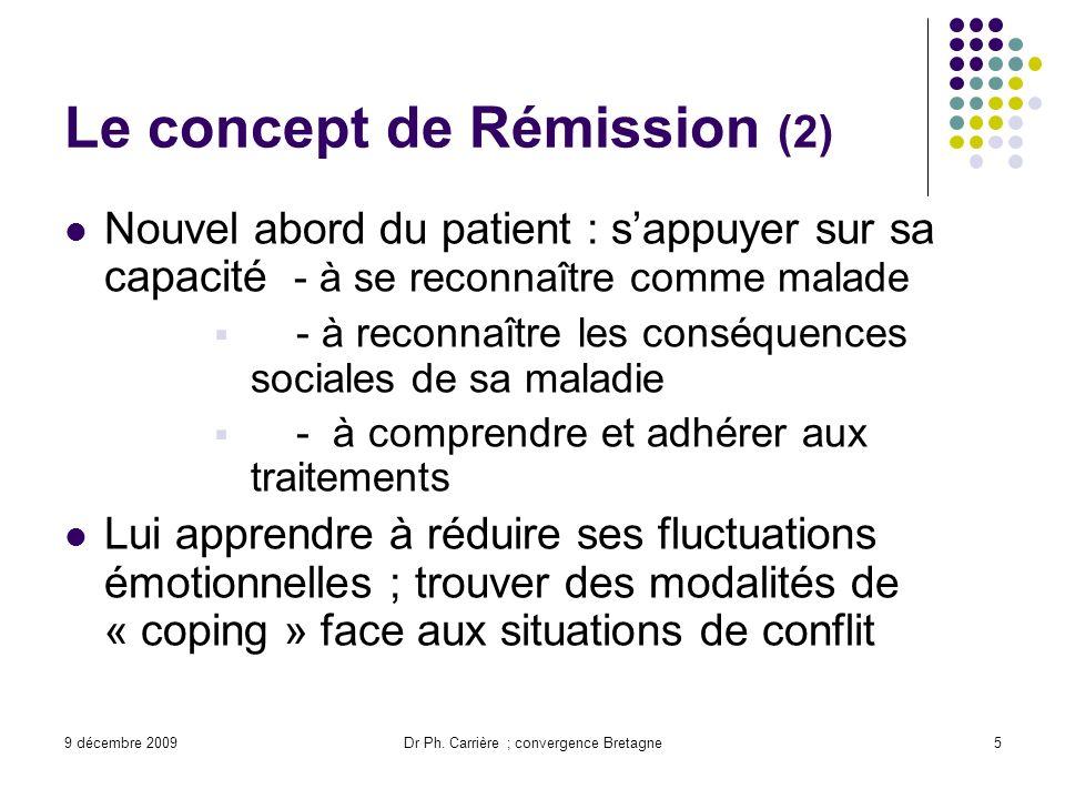 Le concept de Rémission (2)