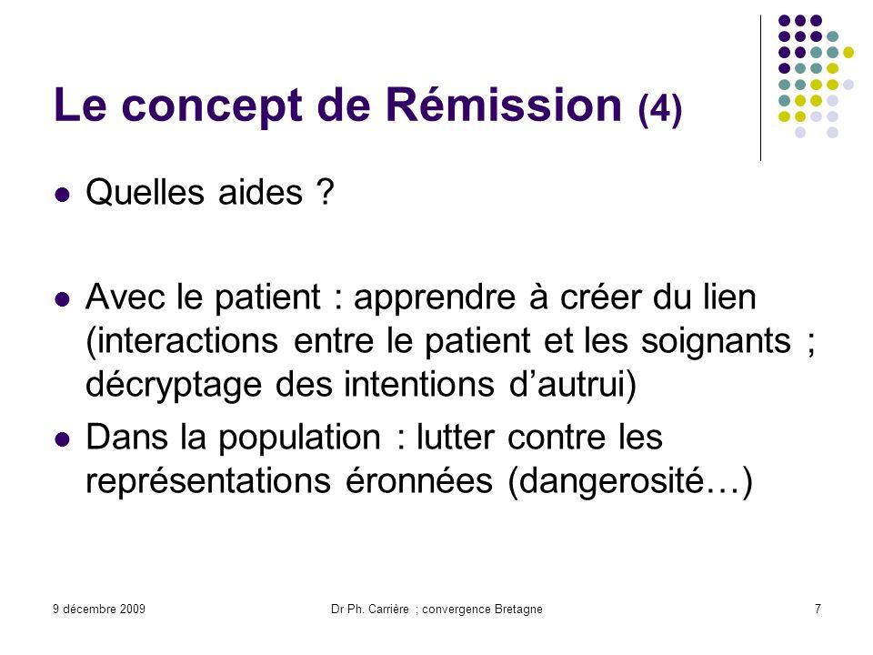 Le concept de Rémission (4)