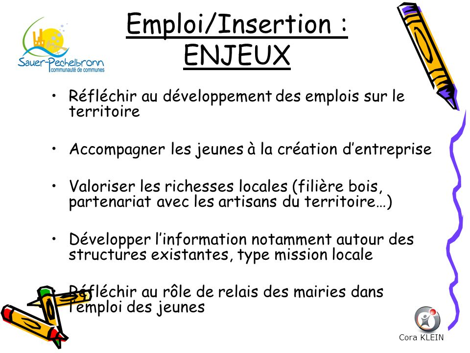 Emploi/Insertion : ENJEUX