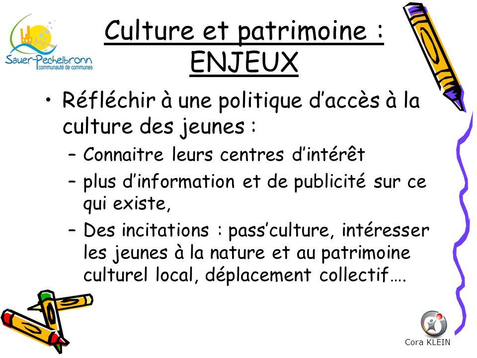 Culture et patrimoine : ENJEUX