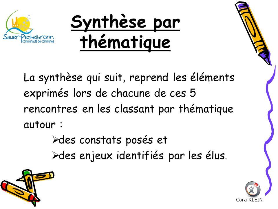 Synthèse par thématique