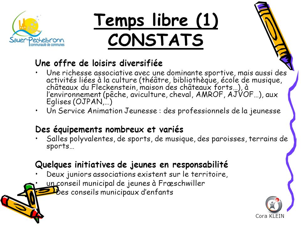 Temps libre (1) CONSTATS