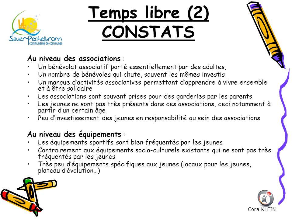 Temps libre (2) CONSTATS