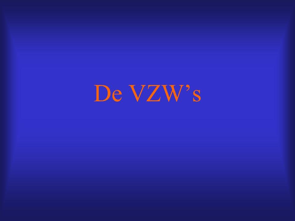 De VZW's