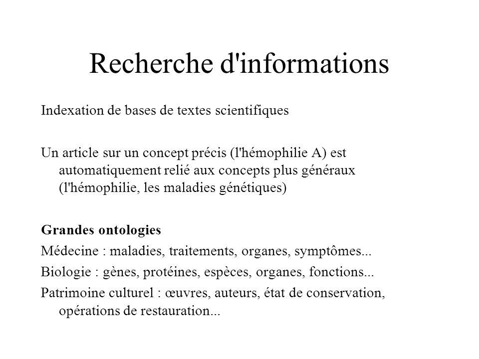 Recherche d informations