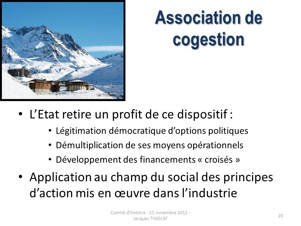 Association de cogestion