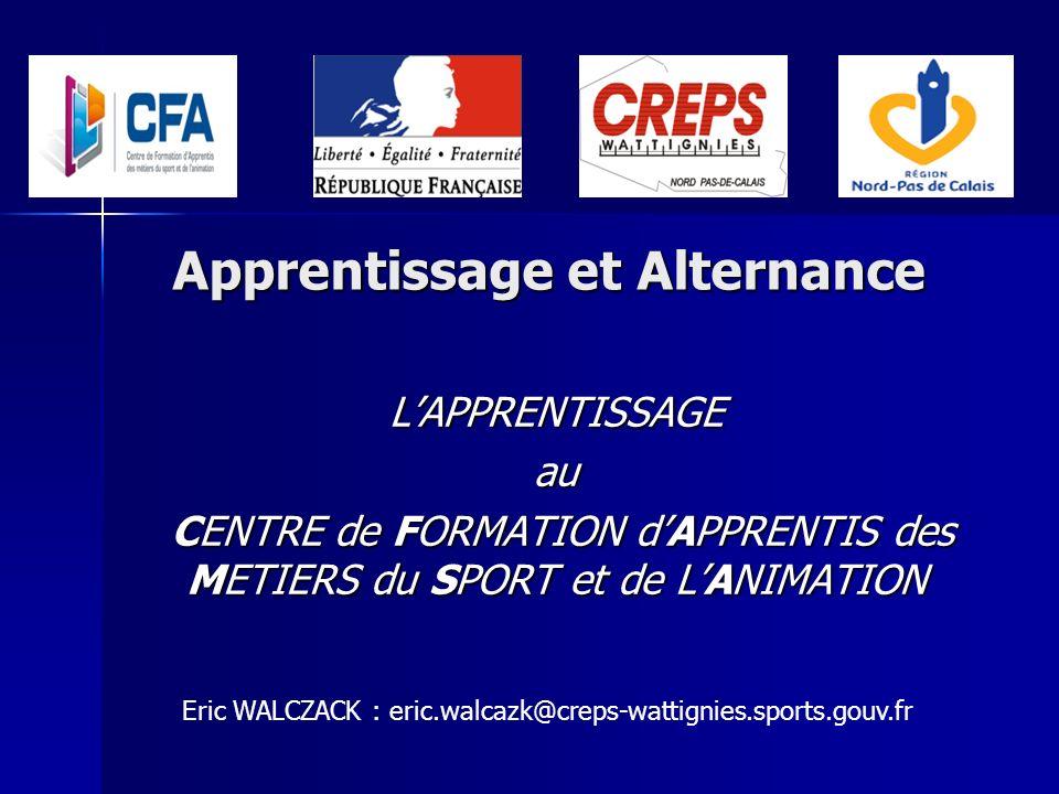 Apprentissage et Alternance