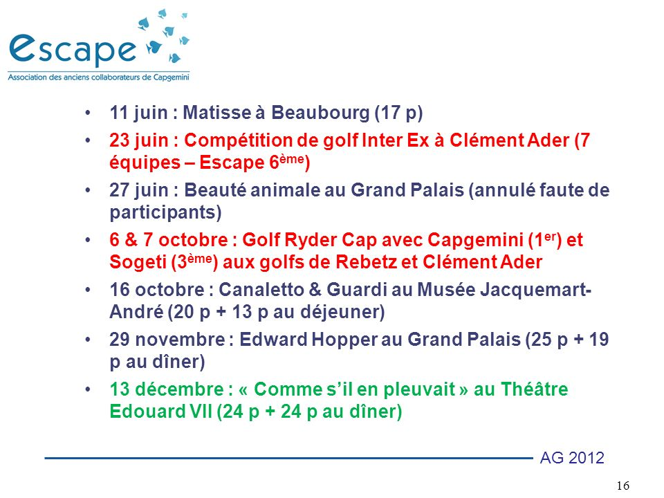11 juin : Matisse à Beaubourg (17 p)