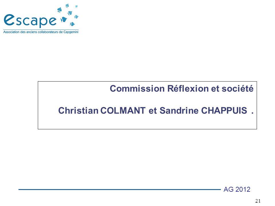 Commission Réflexion et société