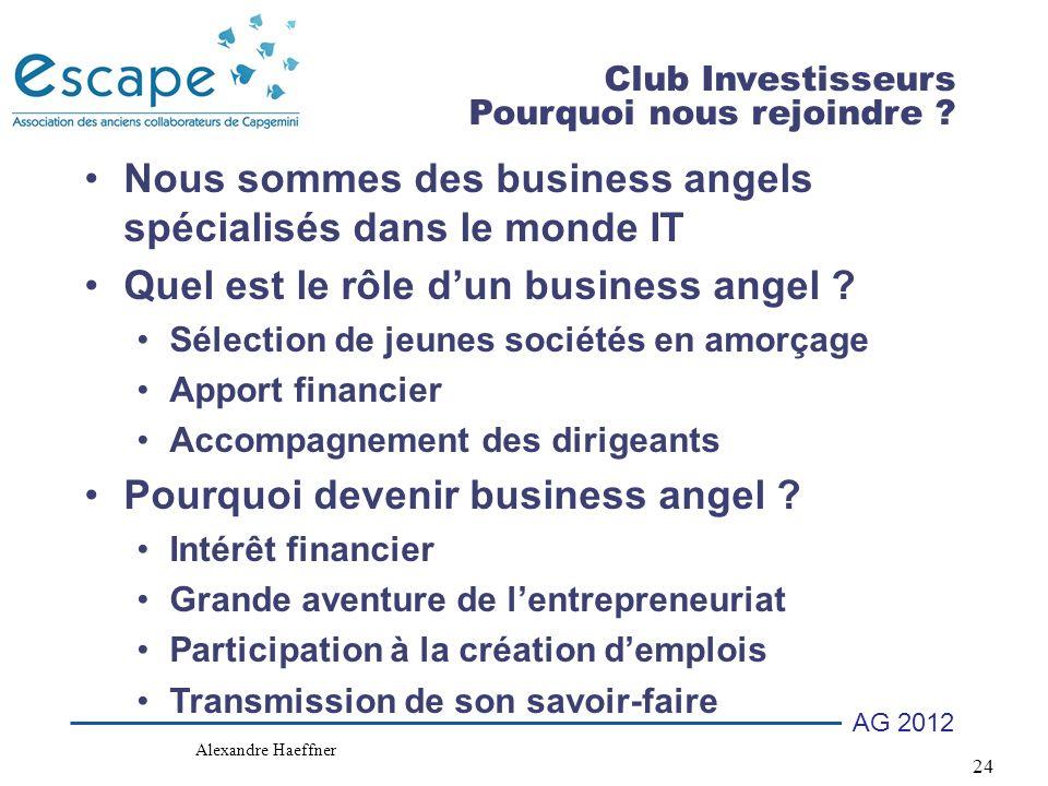 Nous sommes des business angels spécialisés dans le monde IT