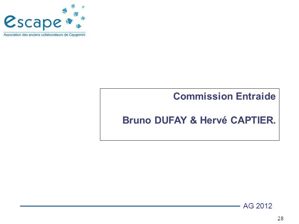 Commission Entraide Bruno DUFAY & Hervé CAPTIER.