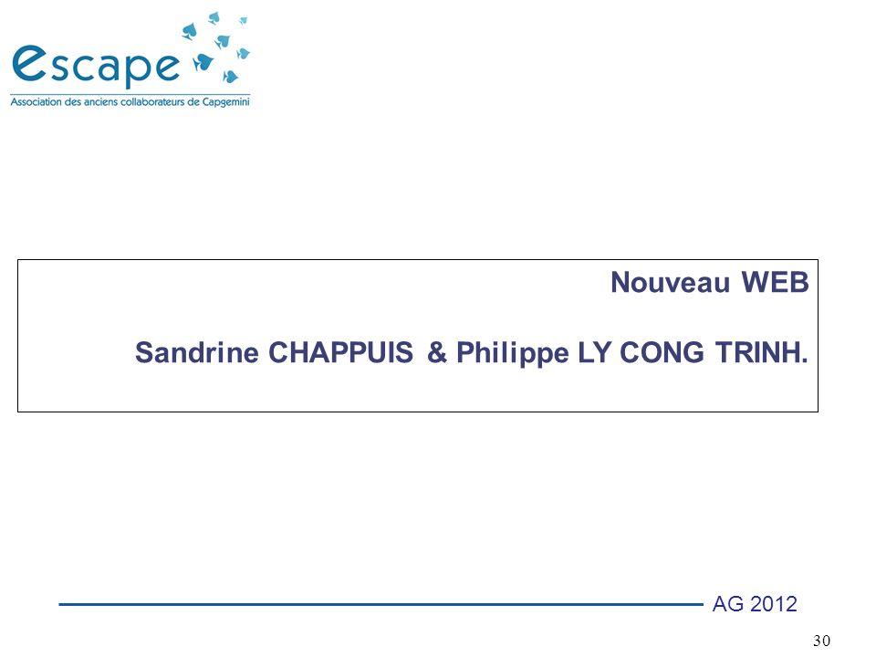 Nouveau WEB Sandrine CHAPPUIS & Philippe LY CONG TRINH.