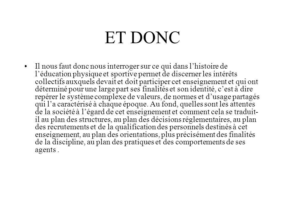 ET DONC