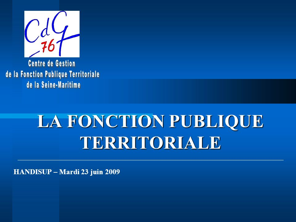 6157acaa0f1 LA FONCTION PUBLIQUE TERRITORIALE - ppt video online télécharger