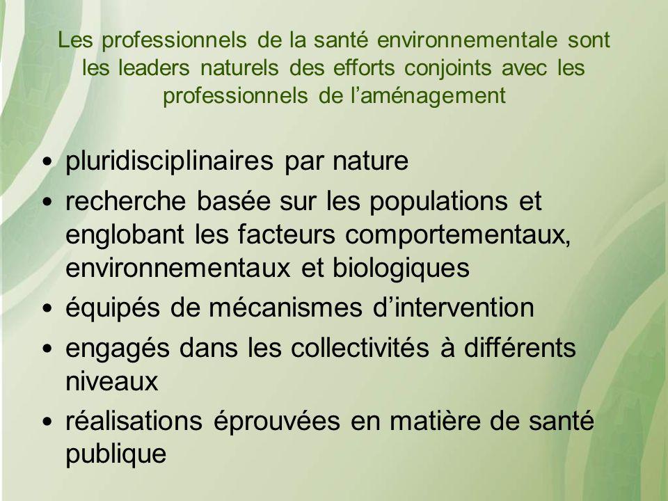 pluridisciplinaires par nature