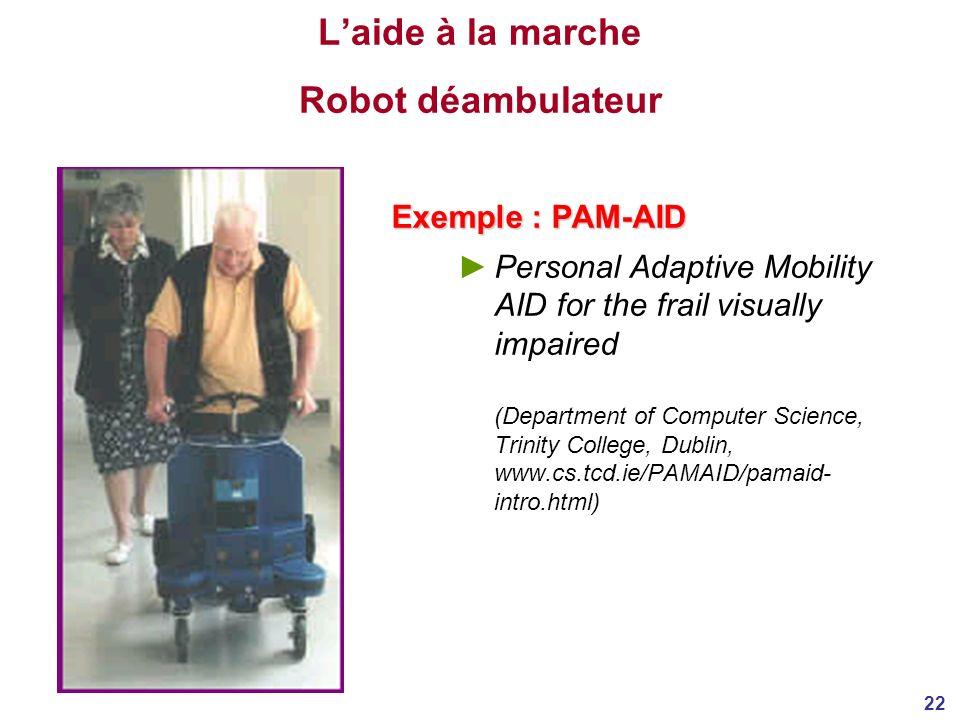 L'aide à la marche Robot déambulateur
