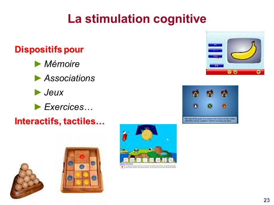 La stimulation cognitive