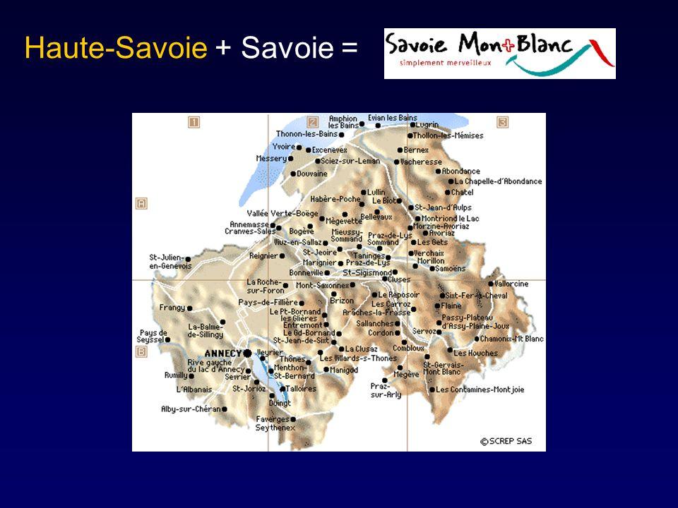 Haute-Savoie + Savoie =