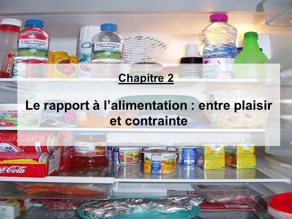 Le rapport à l'alimentation : entre plaisir et contrainte