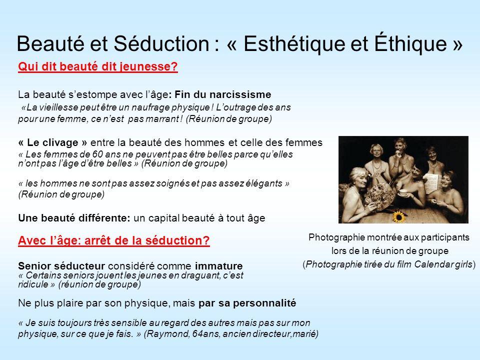 Beauté et Séduction : « Esthétique et Éthique »