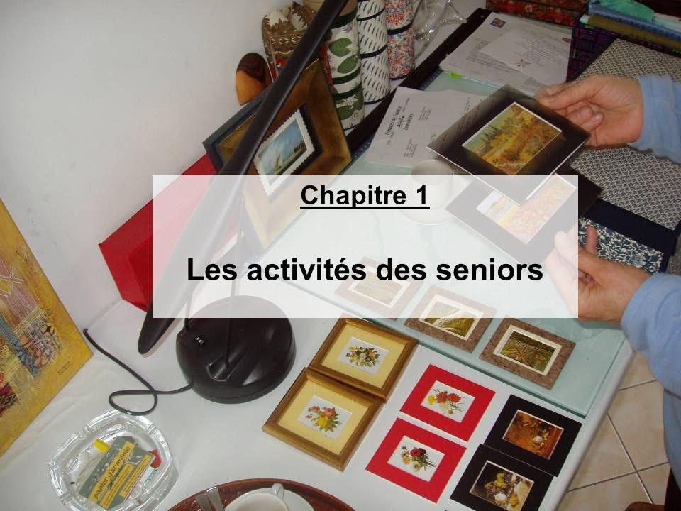 Les activités des seniors