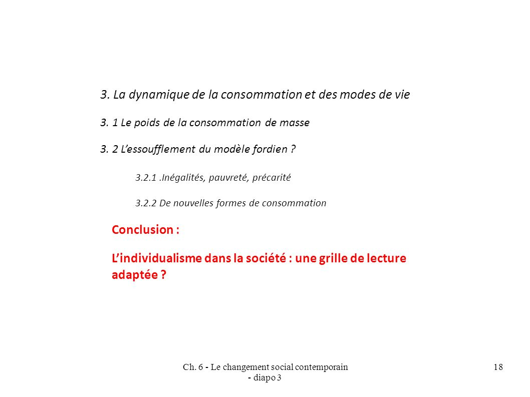 Ch. 6 - Le changement social contemporain - diapo 3