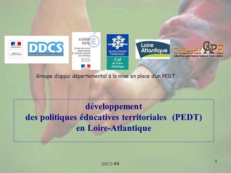 des politiques éducatives territoriales (PEDT)
