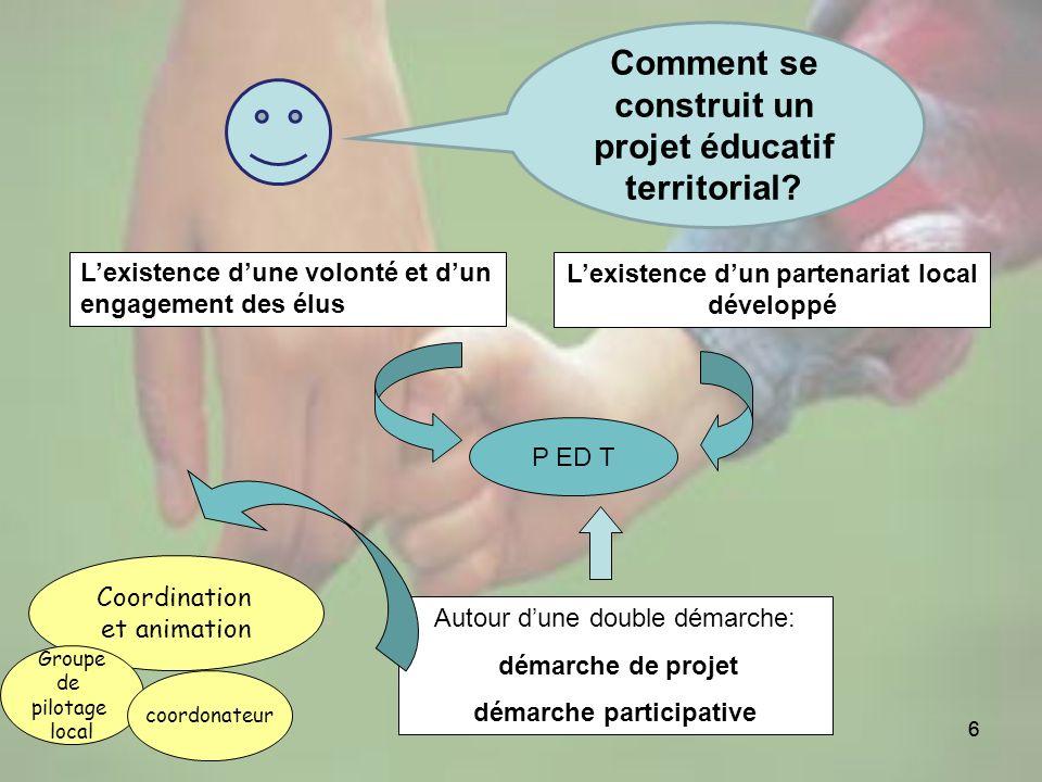 Comment se construit un projet éducatif territorial