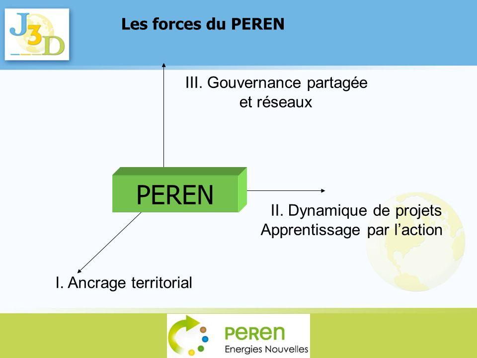 PEREN Les forces du PEREN III. Gouvernance partagée et réseaux